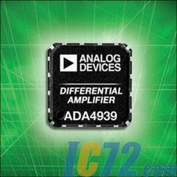 应用的最佳失真差分放大器ADA4939