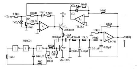 正弦波转换电路图