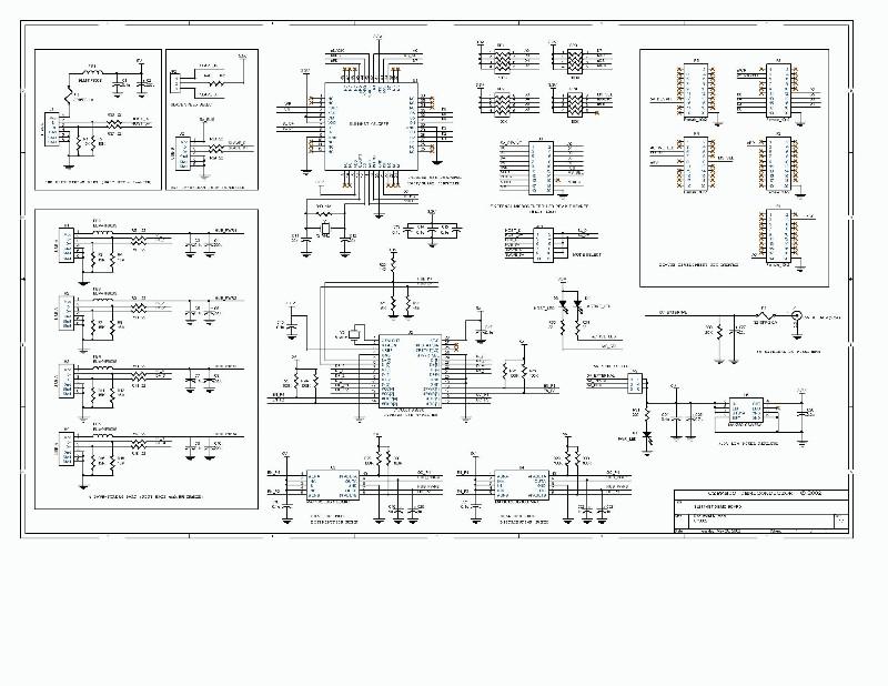 sl811hs开发板原理图