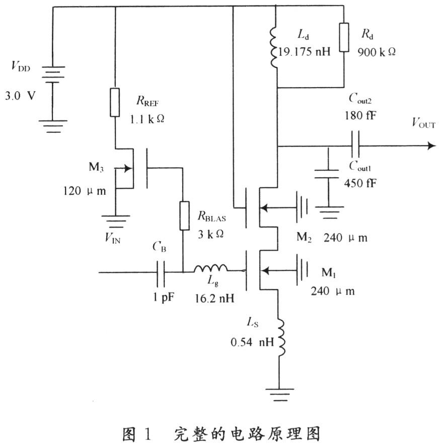 e设计COMS低噪声放大器