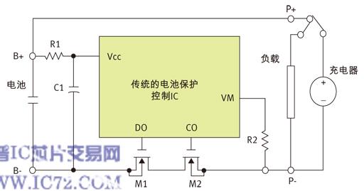 锂电池保护装置电路原理.