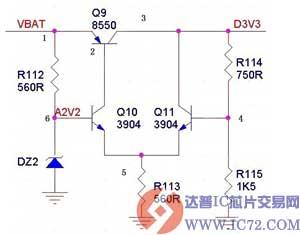 于分立元器件的低压差稳压 LDO 电路图 -基于分立元器件的低压差稳图片