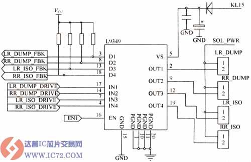 电磁阀驱动电路原理图图片