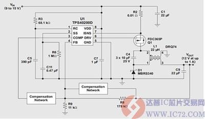 zeta转换器的输出电压具有比相同电感的sepic更低的纹波.