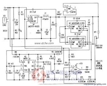 自制锂电池充电器