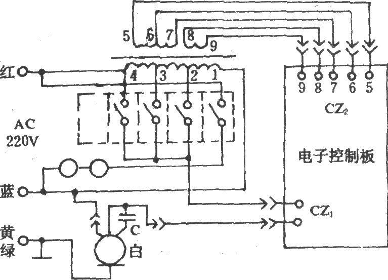 电风扇控制电路(长城fs11-40)