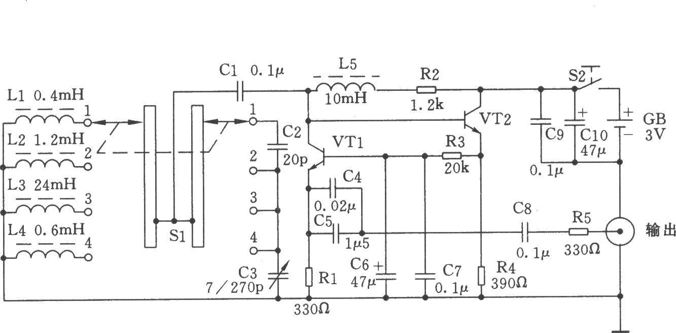 简易的高低频信号发生器