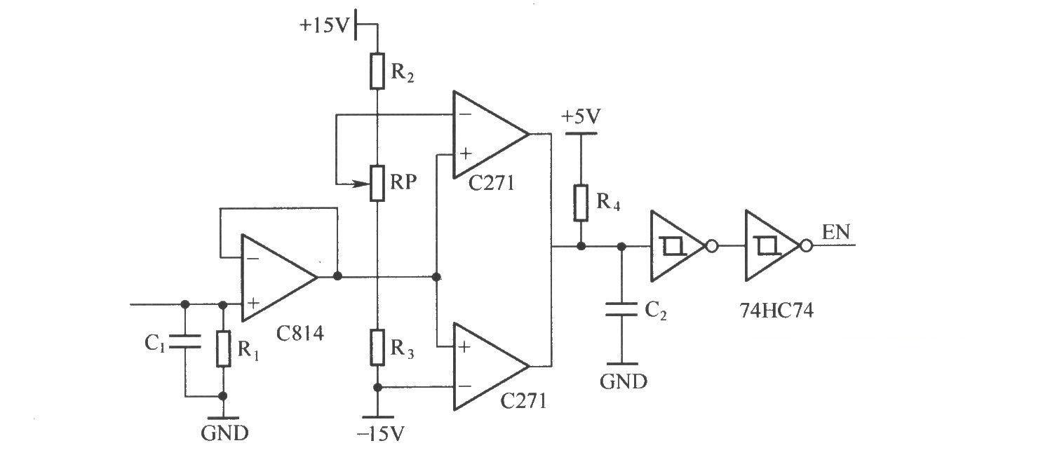igbt过电流保护电路原理图