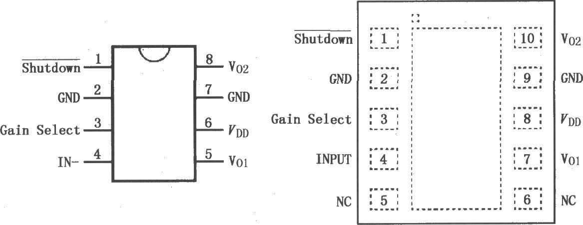 lm4906音频功率放大器