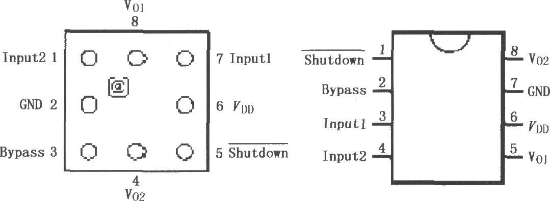 lm4820-6音频功率放大器