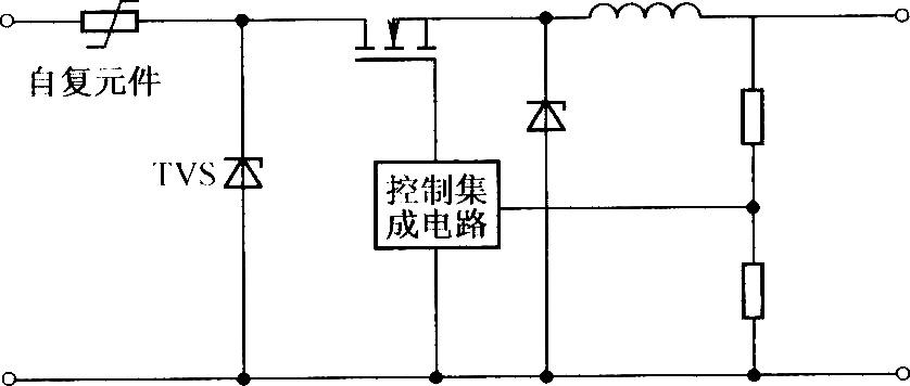 典型的cla保护电路