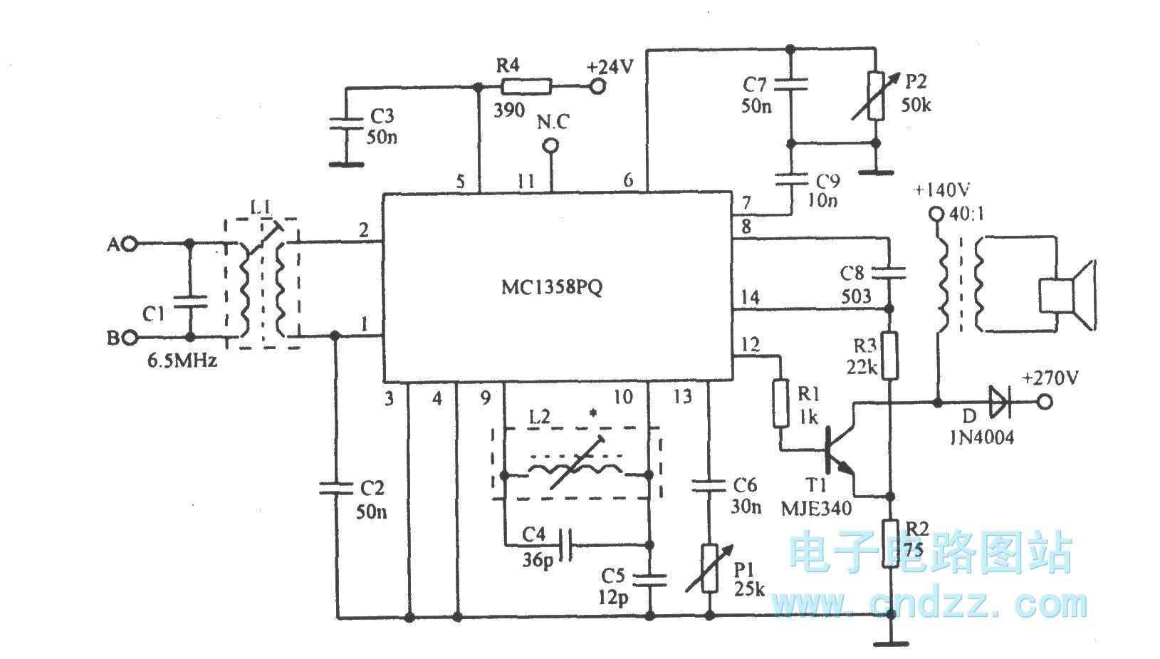 音频处理 > 正文                    高性能双频无线话筒接收电路