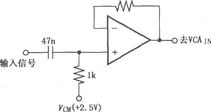 vca824放大器电路图