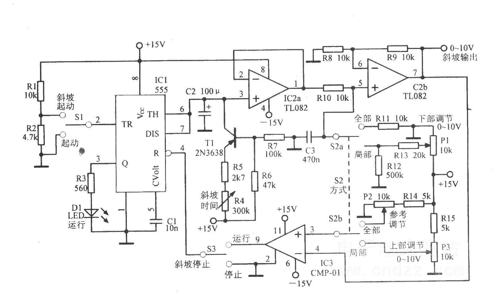 函数信号发生器振荡电路