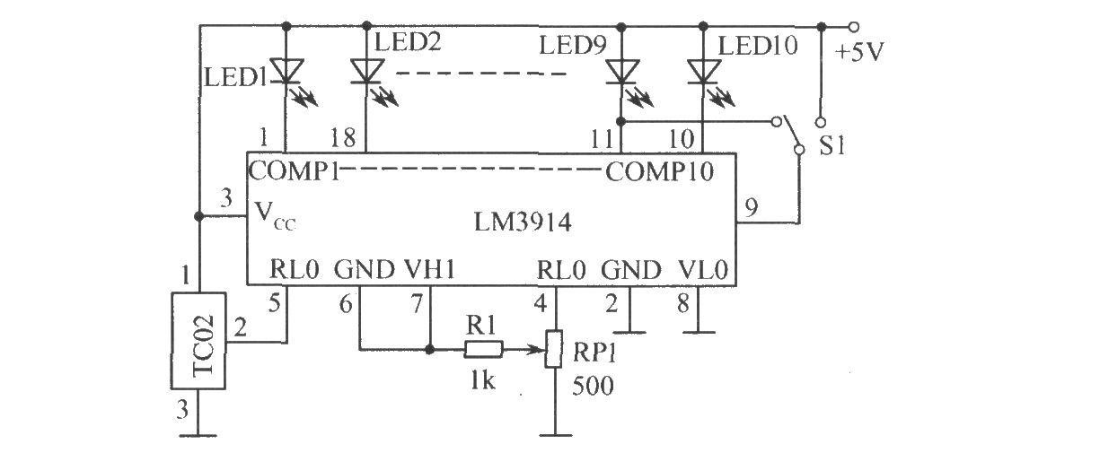 温度测量电路