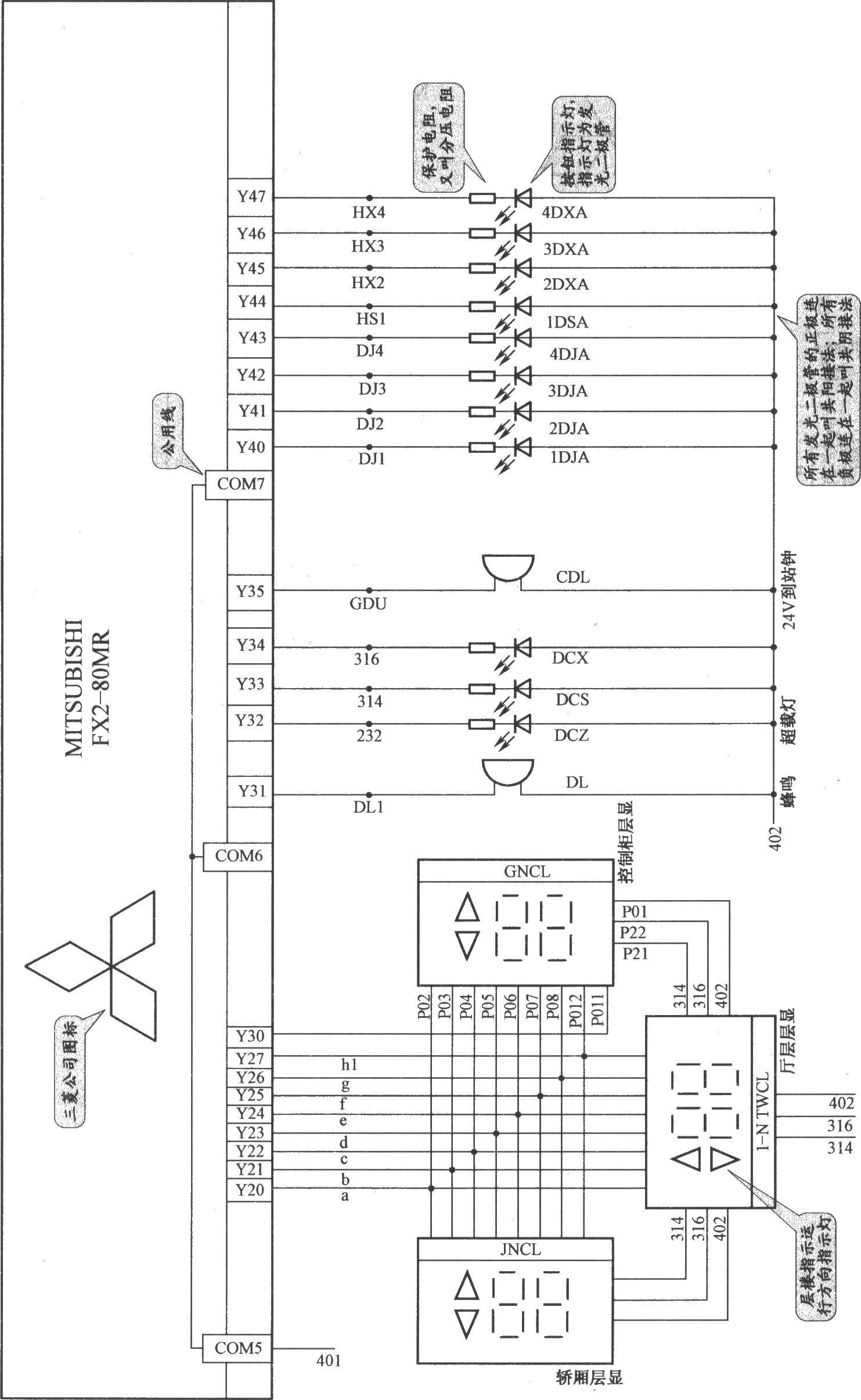 上海新时达电梯控制柜(plc+变频器)