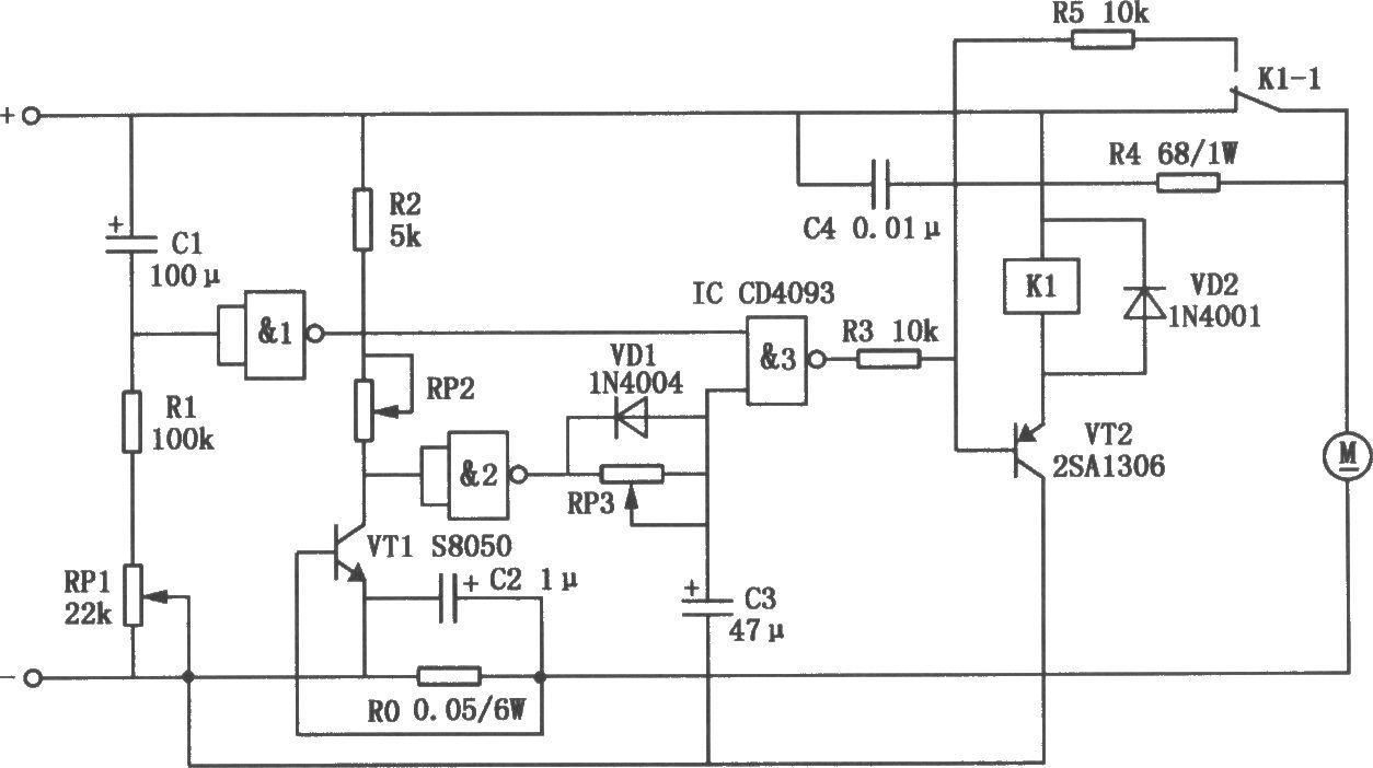 大功率直流电机过流保护电路