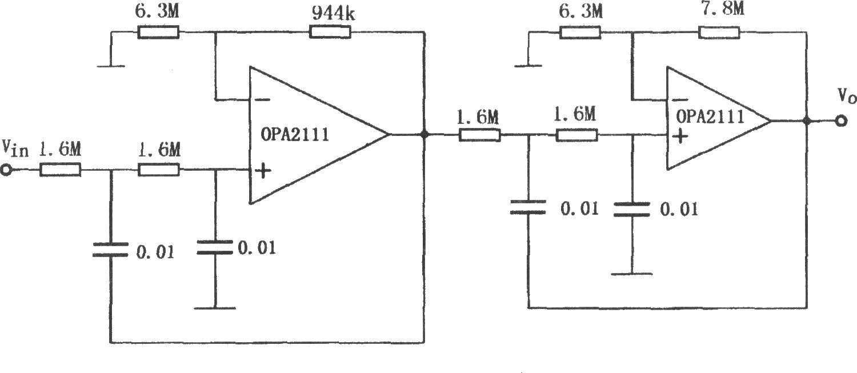 特沃斯低通滤波电路