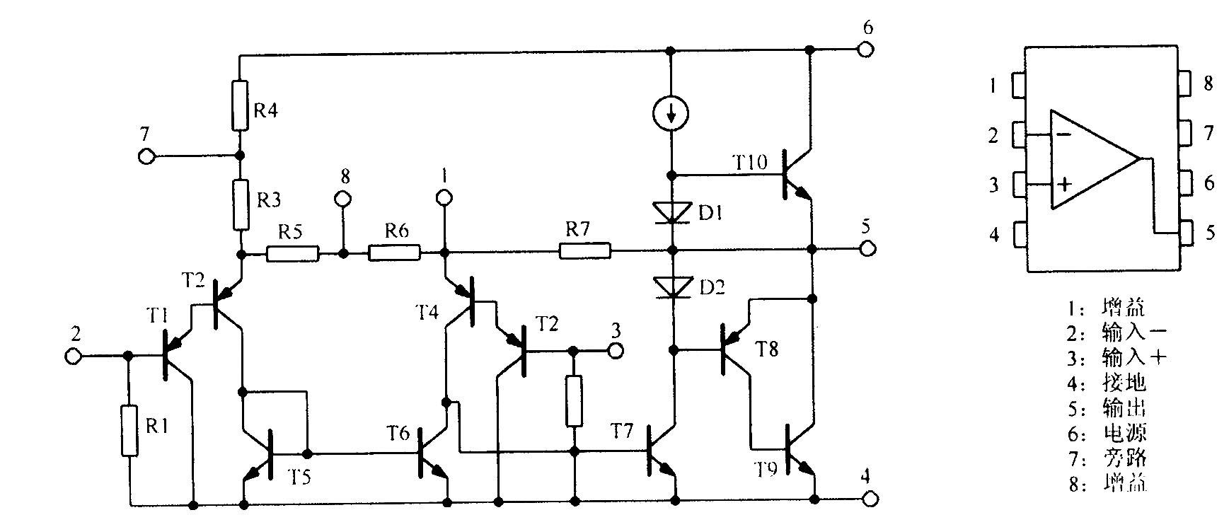 lm386 电路的放大倍数怎么调节