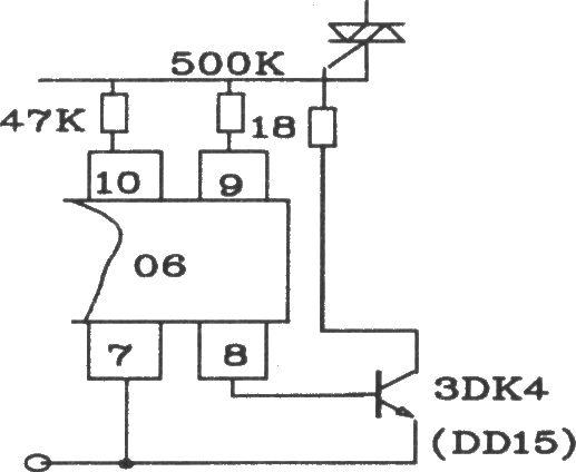 可控硅移相触发器kc06应用电路图
