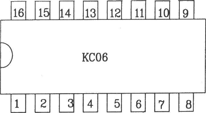 KC06 可控硅移相触发器KC06KC06可控硅移相触发器主要适用于交流电网直接供电的双向可控硅或反并联可控硅线路的交流相位控制。能由交流电网直接供电并无需外加同步、输出变压器和直流工作电源,并且能直接用于可控硅控制及耦合触发。具有锯齿波线性好、移相范围宽、输出电流大等优点。KC06电路同样也适用于KC05电路的使用场合。电参数如下:电源电压:a.外接直流电压 15V,允许波动5%(10%功能正常)b.自生直流电源电压: (12~14)V。电源电流:l2mA。同步电压:30V(有效值)。同步输入端允