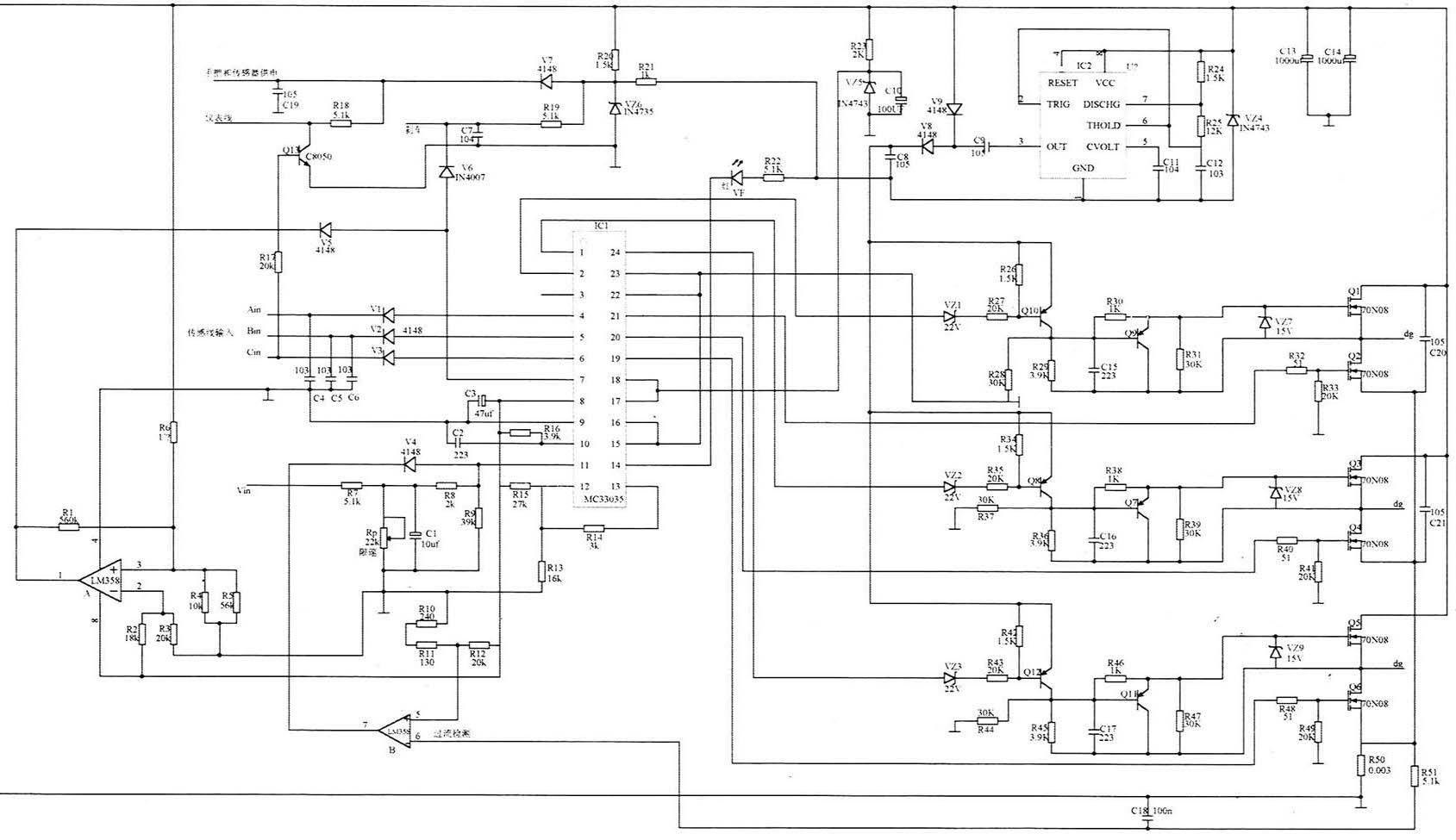路易达48V电动车充电器原理图电动车电路汽cad直角图纸斜钩+钩钢筋图片